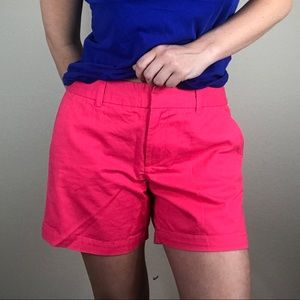 TOMMY HILFIGER SHORTS WOMENS 8 PINK CLASSIC
